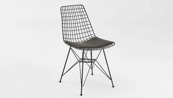 Siyah-Suni-Deri-Sandalye-(SAN-100)