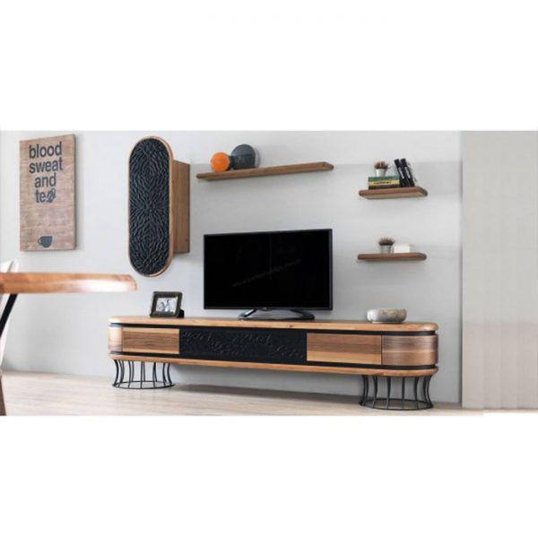 Ahşap-Ceviz-Kaplama-Tv-Sehpası-(Tv-120)