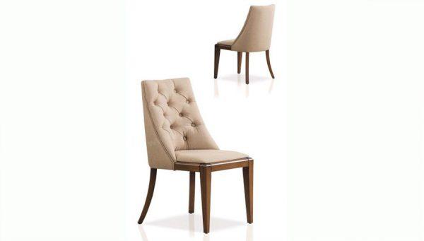 Masif-Ahşap-Dokumalı-Kumaşlı-Sandalye-(San-117)