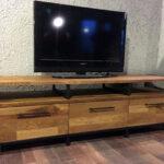 Meşe-Masif-Ahşap-Tv-Sehpası-(-Tv-101)