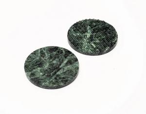 Rufle Bardak Altlıkları Yeşil - 4 'lü
