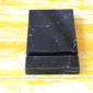 Mermer Telefon Standı Siyah Az Damarlı Dekoratif Ürün