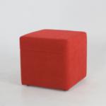 Tlory Küp Kırmızı Bench Puf