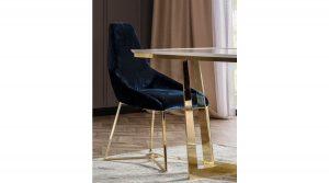 Bloria Sarı Ayak Sandalye