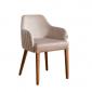Talome Kumaş Kahve Renkli Sandalye