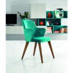 Lazis Parlak Yeşil Sandalye