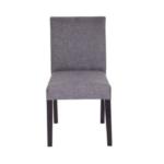 Letrisit Gri Keten New Sandalye