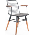 Koy Boyalı Koflu Sandalye