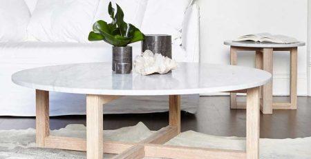 mermer görünümlü yemek masası