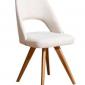 Kridity Kumaş Beyaz Sandalye