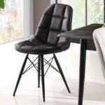 Garban Siyah Sandalye
