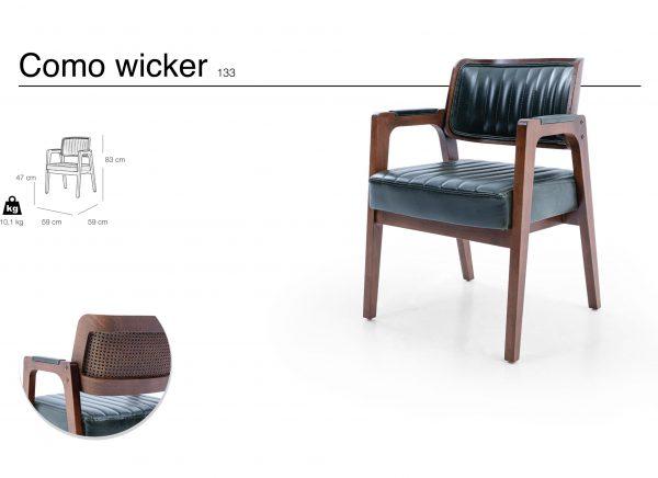 como wicker 133