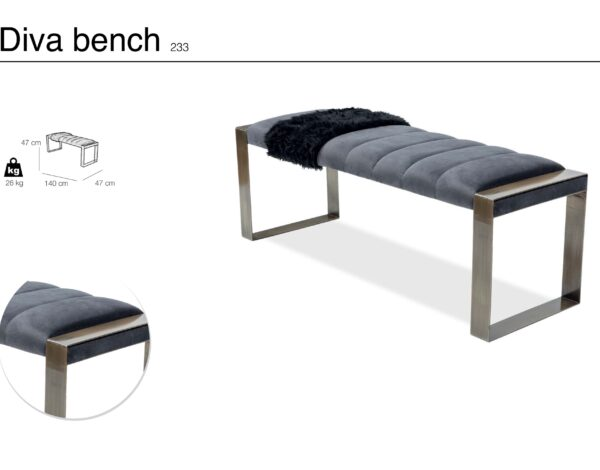 diva bench 233